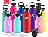 KollyKolla Botella de Agua Acero Inoxidable Termica Oficina