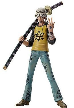 Vol.4 Trafalgar Law One Piece DX Figure separately THE GRANDLINE MEN (japan import)