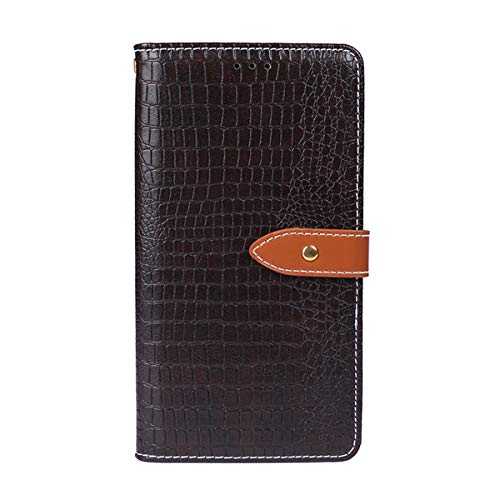 Nokia 5 Case,Nokia 5 Case,Appears Premium PU Leather Wallet Snap Case Appears Appears Flip Cover for Nokia 5 Dark Brown -