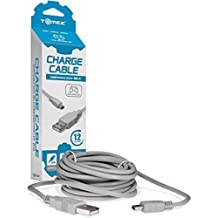 Tomee : Cable Cargador Para Nintendo Wii-u Mando Pro Controller