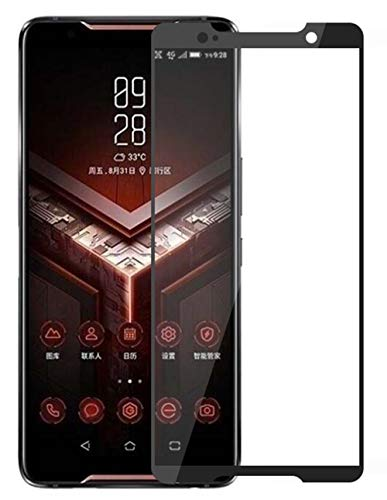 Vicstar ASUS Rog Phone/ZS600KL Panzerglas, ASUS Rog Phone/ZS600KL Vollabdeckung Schutzfolie 9H Härte Gehärtetem Glass für ASUS Rog Phone/ZS600KL