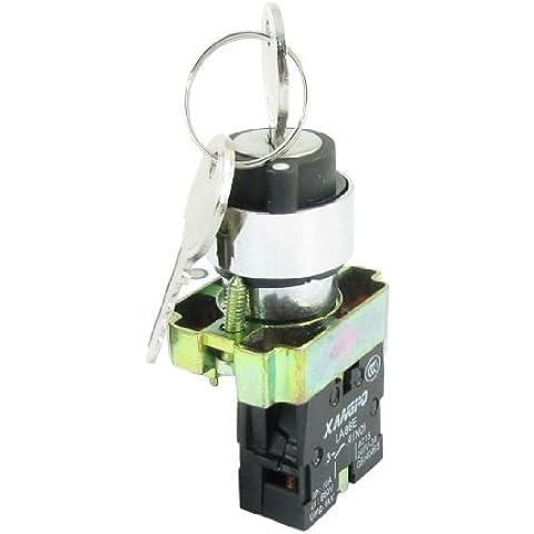 AC 240V 3A 1NO LA86E-BG21 Teclas Rotativo Arranque Boleras Interruptor Botón De Presión