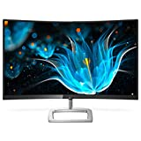 Philips 278E9QJAB/00 - Monitor 27' VA Ultra-Wide Curvo (FHD, 1920x1080 Pixels, Modo LowBlue, FlickerFree, FreeSync, 4ms, HDMI, Displayport)