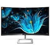 Philips E Line Moniteur LCD incurvé avec Ultra Wide-Color 278E9QJAB/00 - Écrans Plats de PC (68,6 cm (27'), 1920 x 1080 Pixels, Full HD, LCD, 4 ms, Noir, Argent)