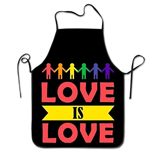 R2d2 Hunde Kostüm - HTETRERW Love Is Love Women's Funny Creative Print Cooking Aprons