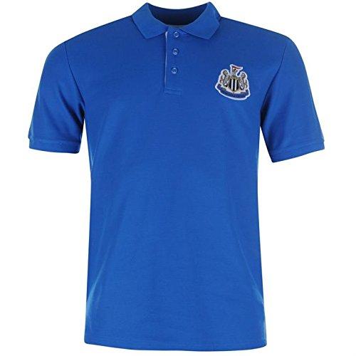 Newcastle United FC Core Polo da uomo calcio maglietta Polo Tee Top Royal L