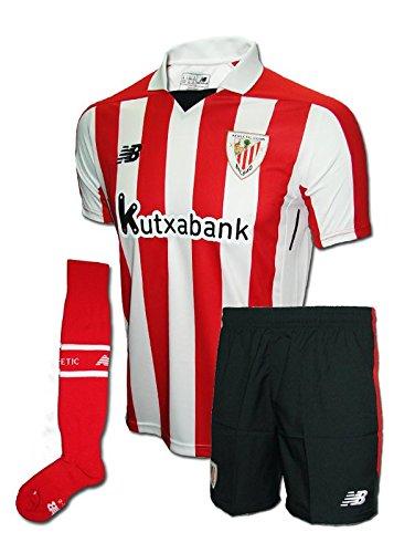 New Balance ATH. Bilbao Conjuntos Deportivos, Sin género, Blanco, 10-11 Años