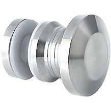 sayayo Badezimmer T/ürknauf Single Side Zirkular Dusche Glas T/ür Handler massiv Edelstahl SUS 304/poliert Fertig EL1800