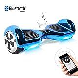 BEBK Hoverboard 6.5' Smart Self Balance Scooter Autobilanciato Skateboard con 2 * 250W Motore, LED, Monopattino Elettrico