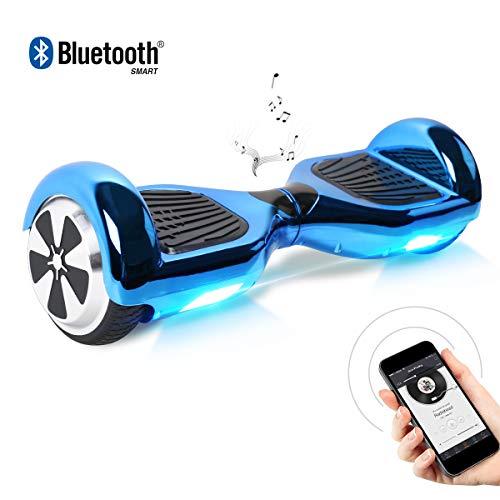 """BEBK Hoverboard 6.5\"""" Smart Self Balance Scooter Autobilanciato Skateboard con 2 * 250W Motore, LED, Monopattino Elettrico"""