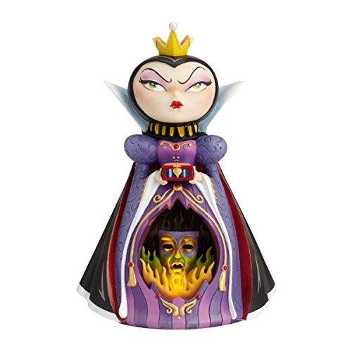 Disney Miss Mindy Presents Evil Queen Figurine, Resin, Multicolour, 18.5 x 14.5 x 25.5 cm
