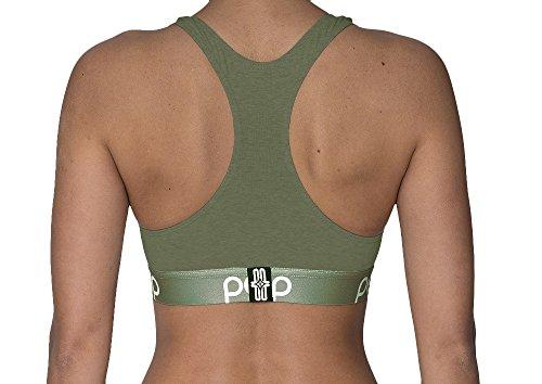 Pepp Underwear Damen Bustier BH ohne Bügel MODERN Olive
