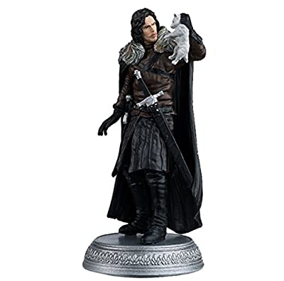 Eaglemoss 1:21 Game of Thrones Jon Snow Winterfell Figure
