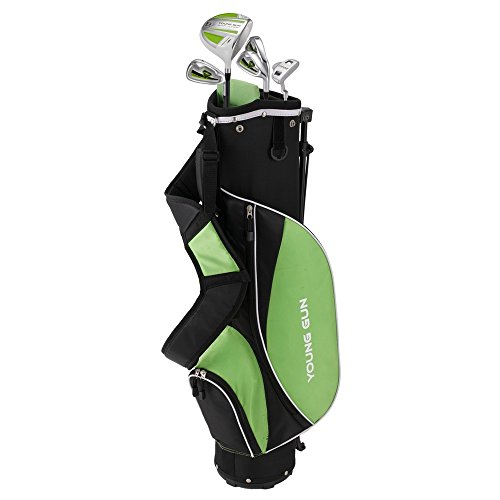 Young Gun ZAAP ACE Junior golf club Youth Set & bag for kids GREEN Ages 12-14