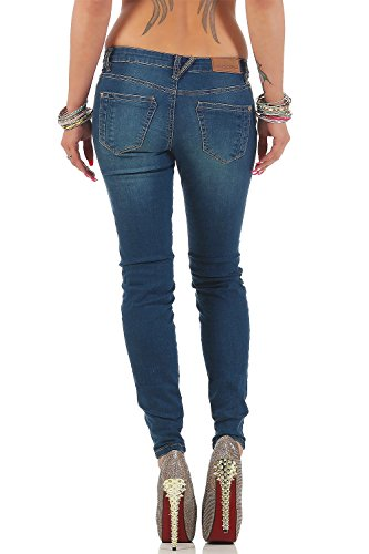 Rock Angel - Jeans - Skinny - Femme bleu bleu Bleu