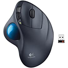 Logitech M570 Mouse con Trackball, Versione Europea, Grigio