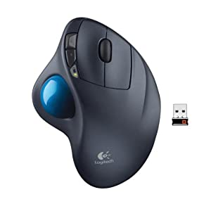 Beste ergonomische Mäuse: Trackball Logitech M570