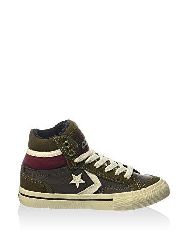 Converse - Converse Pro Blaze Hi Scarpe Sportive Bambino Grigie Pelle 346216C Pineneedle/D.Cactus