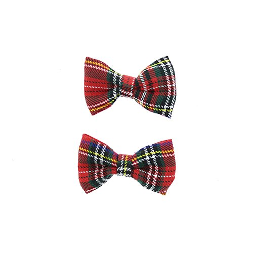 Price comparison product image Zac's Alter Ego® Small Tartan Bows on Crocodile Clip