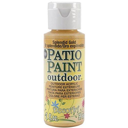 Patio Paint 2oz-Splendid Gold