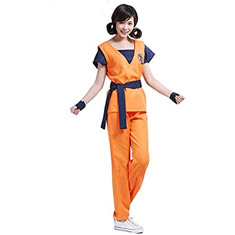 Conjunto Suit Ropa Traje De Goku Uniforme Bola De Dragón Cosplay Para Hombre Chicos - # 1, XXL