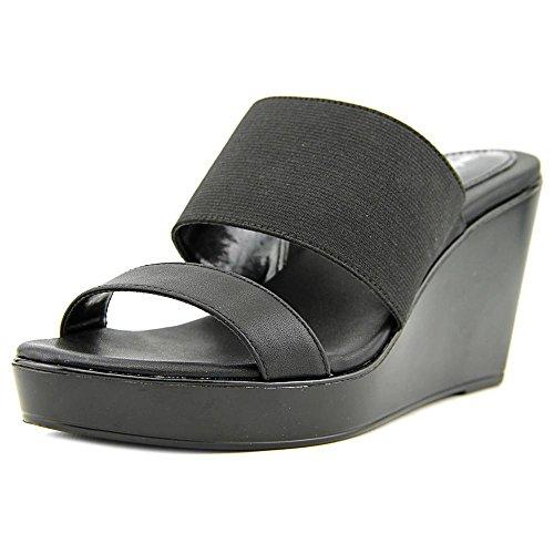 Style & Co Laineyy Femmes Synthétique Sandales Compensés Black