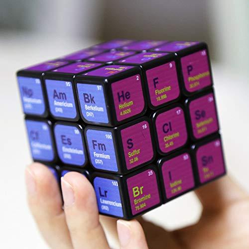 3x3x3 Zauberwürfel Periodensystem Druck Puzzles, Spielzeug für Kinder