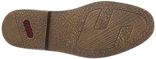 Rieker 13403, Derbies à lacets homme Noir - Schwarz (schwarz/mogano / 00)