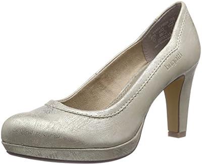 bugatti V4962PR6N - Zapatos de vestir de material sintético para mujer