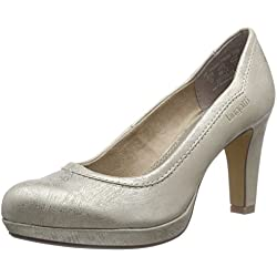 Bugatti V4962PR6N, Damen Plateau Pumps, Beige (beige gold 259), 39 EU (6 Damen UK)