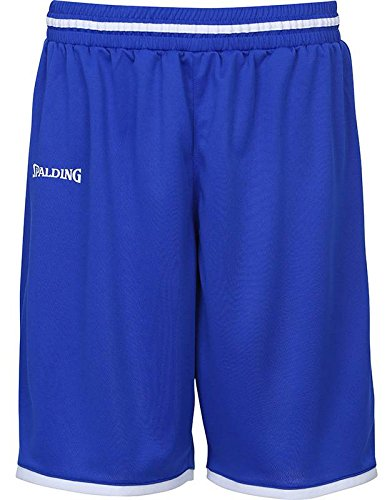 Spalding Uomo Move Shorts Pantaloni, Uomo, MOVE SHORTS, royal/bianco, XXL