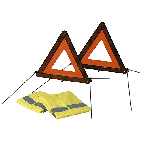 Sumex 2707125 - Kit Triángulos (2) Emergencia + (2) Chaleco En471