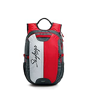 Skybags Strider 26 Ltrs Red Laptop Backpack