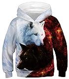 Ocean Plus Niños Sudaderas con Capucha Cool Pullover para Niños Niñas Adolescente Camiseta...