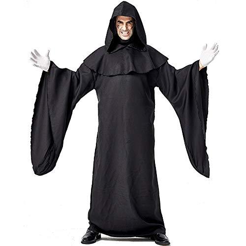 Halloween Kostüm Herren Erwachsene Unisex Karneval Fasching Dunkle Böse Roben Dämonenanhänger - Dunkle Braut Kostüm Kind