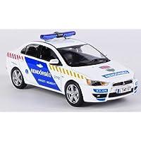 Mitsubishi Lancer X, Hungarian Policia , 2009, Modelo de Auto, modello completo, Vitesse 1:43