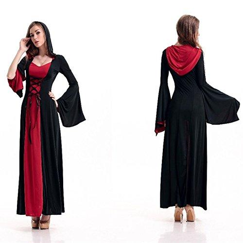 Mittelalterliche Weibliche Kostüm - Gorgeous Spieluniformen mittelalterlichen Adels Palast Prinzessin Kostüm Halloween-Hexekostüm Rollenspiel