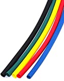 #5: Polyolefin Heat Shrink Tube 3 MM IN 1 METER (RED, YELLOW, BLACK, GREEN, BLUE COLOR )