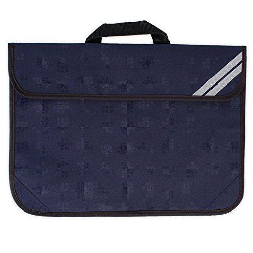 Boys Girls School Book Bag with Hook and Loop Fastening Handbags - 5 Colours