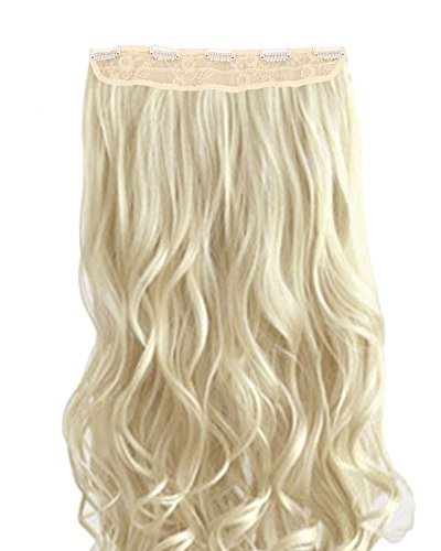 stylish-23-inches-58cm-long-natural-wave-3-4-full-head-one-piece-5-clips-clip-in-hair-extension-synt