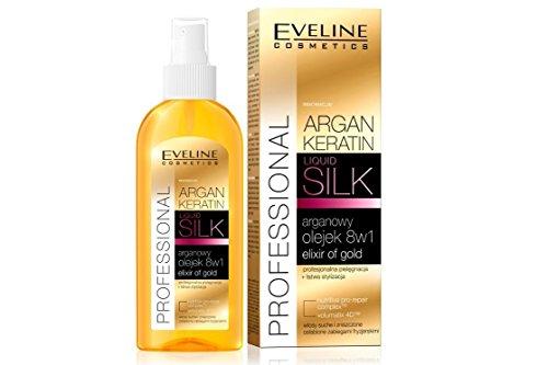 Souple&lisser cheveux! / Soft&smooth hair! Eveline Argan + Keratin Hair Oil 8in1 Intense regeneration + comprehensive restoration! / Intenses régénération + exhaustif restauration!