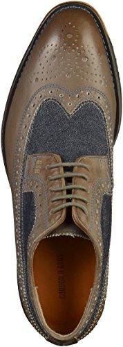 Gordon & Bros S160740 Herren Businessschuhe Grau