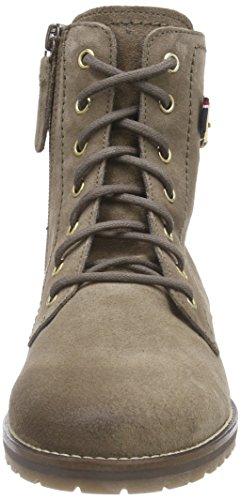 Tommy Hilfiger WENDY 6B - Stivali da gamba corta, imbottitura calda da donna Beige (mink/coffee 906)