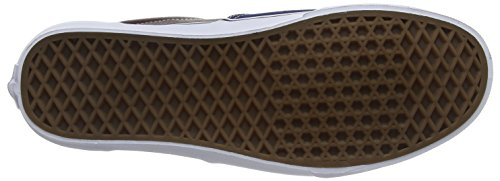Vans Era, Baskets Basses mixte adulte Multicolore (Leather/Plaid/Estate Blue/Potting Soil)