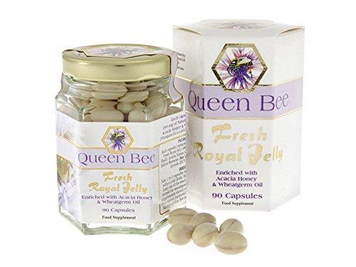 Queen Bee, Royal Jelly 90Kappenule