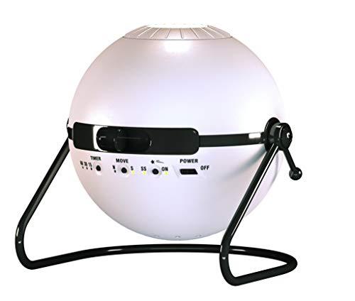 Monsterzeug Home Planetarium Sternenprojektor, LED Sternenhimmel, weißer Sega Toys Homestar, Nachthimmel - 16 x 16 x 15 cm