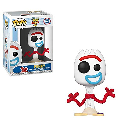Funko- Pop Vinilo: Disney: Toy Story 4: Forky Figura Coleccionable, Multicolor (37396)