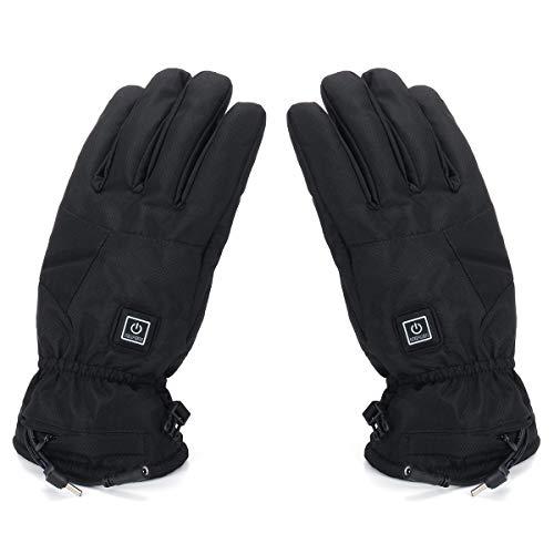 Handschuhe für Motorräder Motorrad Winter Warmer Outdoor Ski 7.4V 3000 mah Elektrisch beheizte Handschuhe -