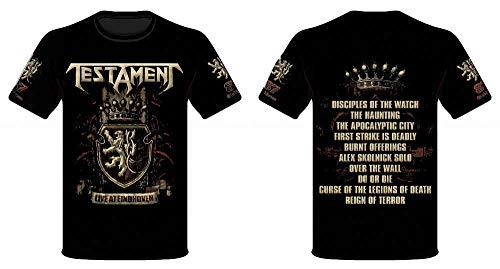 TESTAMENT, Eindhoven - T-Shirt M