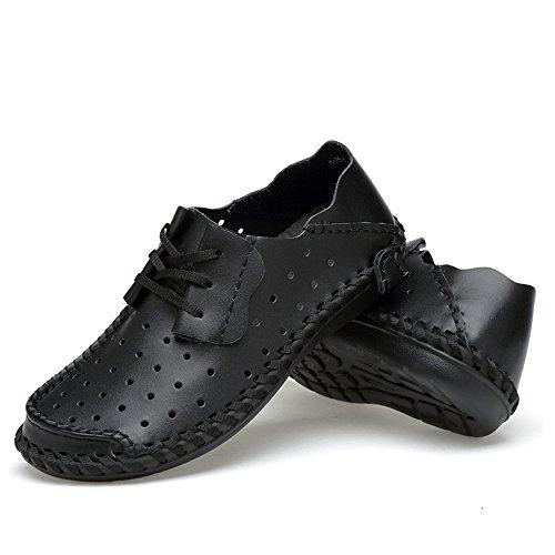 Herren Atmungsaktive Laufslipper Outdoor Leichte Schuhe Schwarz Cn42 -